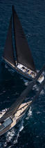 Silandra V during the Giraglia Rolex Cup 2007. © Guillaume Plisson / Pêcheur d'Images / AA15068 - Photo Galleries - Vertical panoramic