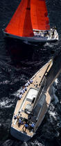 Silandra V during the Giraglia Rolex Cup 2007. © Guillaume Plisson / Pêcheur d'Images / AA15069 - Photo Galleries - Vertical panoramic