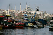 Istanbul © Philip Plisson / Pêcheur d'Images / AA15585 - Photo Galleries - Istanbul, the Bosphorus