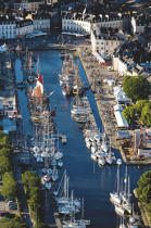 The port of Rabine in Vannes. © Philip Plisson / Pêcheur d'Images / AA16899 - Photo Galleries - Morbihan