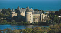 Castle Suscinio on the peninsula Rhuys. © Philip Plisson / Pêcheur d'Images / AA16906 - Photo Galleries - Morbihan