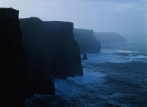 Cliffs of Moher © Philip Plisson / Pêcheur d'Images / AA17290 - Photo Galleries - Ireland, the green island