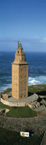 The Hercule Tower © Philip Plisson / Pêcheur d'Images / AA17306 - Photo Galleries - Vertical panoramic