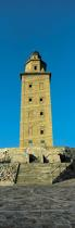 The lighthouse of Torre de Herculés © Guillaume Plisson / Pêcheur d'Images / AA17495 - Photo Galleries - Vertical panoramic