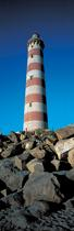 Lighthouse of Barra, Beira litoral, Portugal © Philip Plisson / Pêcheur d'Images / AA17568 - Photo Galleries - Vertical panoramic