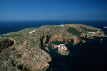 Lighthouse of Berlenga, Estremadure, Portugal © Philip Plisson / Pêcheur d'Images / AA17577 - Photo Galleries - Portuguese Lighthouses