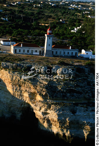 Lighthouse of Alfanzina, Algarve, Portugal - © Guillaume Plisson / Pêcheur d'Images / AA17604 - Photo Galleries - Portuguese Lighthouses