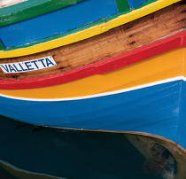 Fishing boat on Malta. © Philip Plisson / Pêcheur d'Images / AA17939 - Photo Galleries - Sea decoration
