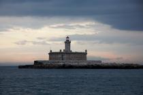 Bugio lighthouse © Philip Plisson / Pêcheur d'Images / AA18014 - Photo Galleries - Lighthouse [Por]