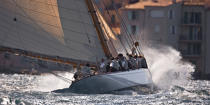 Tuiga the 2008 Voiles de Saint-Tropez. © Philip Plisson / Pêcheur d'Images / AA18935 - Photo Galleries - Classic Yachting