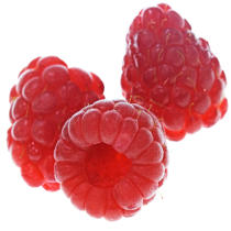 Raspberries. © Philip Plisson / Pêcheur d'Images / AA19805 - Photo Galleries - Gourmet food
