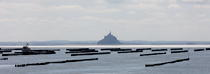 Le Mont Saint-Michel. © Philip Plisson / Pêcheur d'Images / AA20879 - Photo Galleries - The Mont-Saint-Michel Bay and Chausey