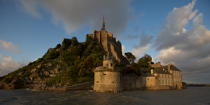 The Mont-Saint-Michel. © Philip Plisson / Pêcheur d'Images / AA20903 - Photo Galleries - The Mont-Saint-Michel Bay and Chausey