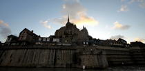 The Mont-Saint-Michel. © Philip Plisson / Pêcheur d'Images / AA20905 - Photo Galleries - The Mont-Saint-Michel Bay and Chausey