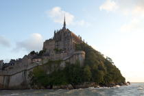 The Mont-Saint-Michel. © Philip Plisson / Pêcheur d'Images / AA20906 - Photo Galleries - The Mont-Saint-Michel Bay and Chausey