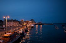 Barfleur night. © Philip Plisson / Pêcheur d'Images / AA21111 - Photo Galleries - From Barfleur to Granville