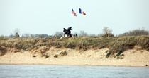 Utah Beach. © Philip Plisson / Pêcheur d'Images / AA22164 - Photo Galleries - From Honfleur to Saint-Vaast-La-Hougue