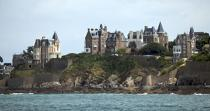Dinard. © Philip Plisson / Pêcheur d'Images / AA22320 - Photo Galleries - Ille & Vilaine