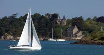 On the Rance river © Philip Plisson / Pêcheur d'Images / AA22690 - Photo Galleries - From Cancale to Saint-Brieuc