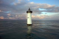 Herpin lighthouse. © Philip Plisson / Pêcheur d'Images / AA22824 - Photo Galleries - French Lighthouses