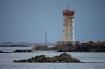 Croix lighthouse at the entrance of the Trieux river. © Philip Plisson / Pêcheur d'Images / AA23080 - Photo Galleries - From Paimpol to Sept-Iles