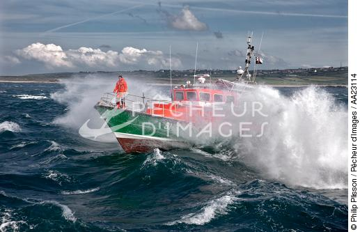 Lifeboat - SNSM - © Philip Plisson / Pêcheur d'Images / AA23114 - Photo Galleries - Sea Rescue