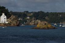 Loguivy de la mer at the entrance Trieux © Philip Plisson / Pêcheur d'Images / AA23320 - Photo Galleries - From Paimpol to Sept-Iles