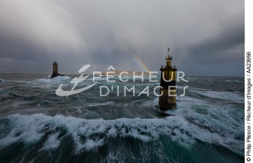 Pointe du Raz - © Philip Plisson / Pêcheur d'Images / AA23956 - Photo Galleries - Storms