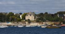 Beg Meil in the bay of Concarneau © Philip Plisson / Pêcheur d'Images / AA24078 - Photo Galleries - From Bénodet to Etel