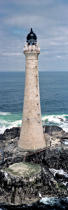 Lighthouse Skeryvore © Philip Plisson / Pêcheur d'Images / AA25054 - Photo Galleries - Vertical panoramic