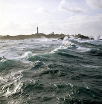 Créa'ch lighthouse on Ouessant island. © Philip Plisson / Pêcheur d'Images / AA25057 - Photo Galleries - Créac'h
