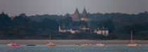 Suscinio castle in Sarzeau. © Philip Plisson / Pêcheur d'Images / AA26374 - Photo Galleries - From Quiberon to the Vilaine river