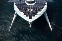 Le Tûranor Planetsolar © Philip Plisson / Pêcheur d'Images / AA27411 - Photo Galleries - Le Tùranor Planetsolar
