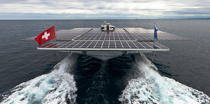 Le Tûranor Planetsolar © Philip Plisson / Pêcheur d'Images / AA27416 - Photo Galleries - Le Tùranor Planetsolar