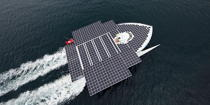 Le Tûranor Planetsolar © Philip Plisson / Pêcheur d'Images / AA27417 - Photo Galleries - Le Tùranor Planetsolar