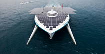 Le Tûranor Planetsolar © Philip Plisson / Pêcheur d'Images / AA27418 - Photo Galleries - Le Tùranor Planetsolar