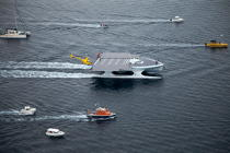Le Tûranor Planetsolar © Philip Plisson / Pêcheur d'Images / AA27421 - Photo Galleries - Le Tùranor Planetsolar