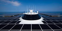 The Tùranor Planetsolar © Philip Plisson / Pêcheur d'Images / AA27438 - Photo Galleries - Le Tùranor Planetsolar