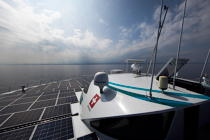 The Tùranor Planetsolar © Philip Plisson / Pêcheur d'Images / AA27439 - Photo Galleries - Le Tùranor Planetsolar
