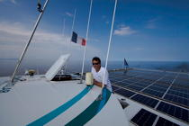 The Tùranor Planetsolar © Philip Plisson / Pêcheur d'Images / AA27445 - Photo Galleries - Le Tùranor Planetsolar