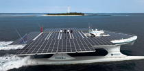The Tùranor Planetsolar © Philip Plisson / Pêcheur d'Images / AA27469 - Photo Galleries - Le Tùranor Planetsolar