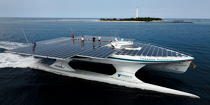 The Tùranor Planetsolar © Philip Plisson / Pêcheur d'Images / AA27472 - Photo Galleries - Le Tùranor Planetsolar