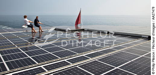 The Tùranor Planetsolar - © Philip Plisson / Pêcheur d'Images / AA27478 - Photo Galleries - Le Tùranor Planetsolar