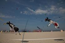 International Meetings of kites in Berck sur Mer [AT] © Philip Plisson / Pêcheur d'Images / AA28705 - Photo Galleries - Nord-Pas-de-Calais