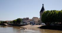 Libourne © Philip Plisson / Pêcheur d'Images / AA29364 - Photo Galleries - From Royan to Bordeaux