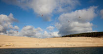 The dune du Pilat © Philip Plisson / Pêcheur d'Images / AA29744 - Photo Galleries - From Soulac to Capbreton