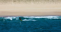 Kitesurfing in Hossegor Capbreton © Philip Plisson / Pêcheur d'Images / AA29796 - Photo Galleries - Aquitaine