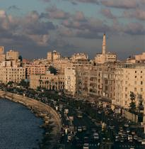 Alexandria, Egypt © Philip Plisson / Pêcheur d'Images / AA30090 - Photo Galleries - Egypt from above