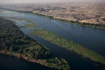 The lush banks of the Nile © Philip Plisson / Pêcheur d'Images / AA30247 - Photo Galleries - Egypt from above