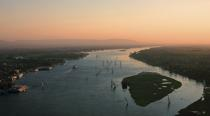 Sunset on the Nile in Luxor © Philip Plisson / Pêcheur d'Images / AA30258 - Photo Galleries - Egypt from above
